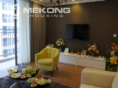 Bright apartment with 3 bedrooms and full furniture in Times City Hanoi