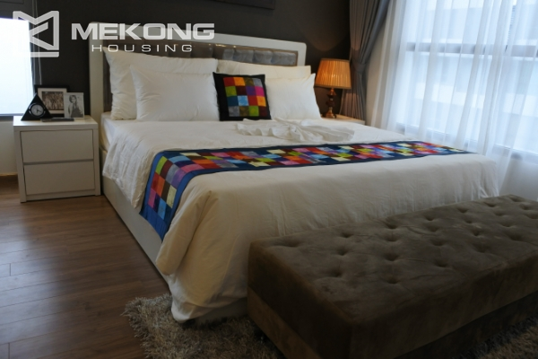 Bright apartment with 3 bedrooms and full furniture in Times City Hanoi 4