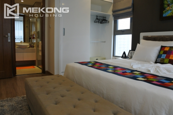 Bright apartment with 3 bedrooms and full furniture in Times City Hanoi 6