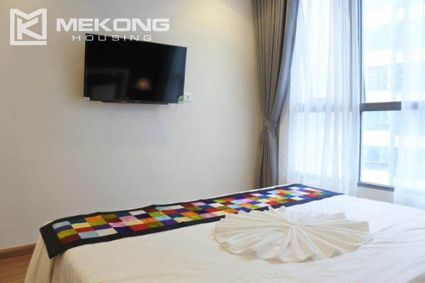 Bright apartment with 3 bedrooms and full furniture in Times City Hanoi 11