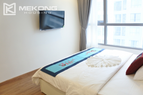 Bright apartment with 3 bedrooms and full furniture in Times City Hanoi 13