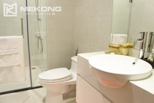 Bright apartment with 3 bedrooms and full furniture in Times City Hanoi 14