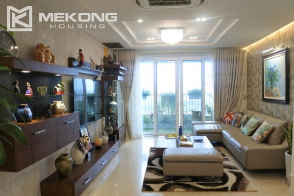 Bright apartment with 3 bedrooms for rent in P2 tower Ciputra Hanoi 5