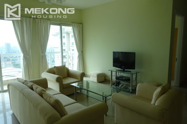 Bright apartment with 4 bedrooms on high floor in E4 tower Ciputra Hanoi 1