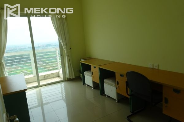 Bright apartment with 4 bedrooms on high floor in E4 tower Ciputra Hanoi 15