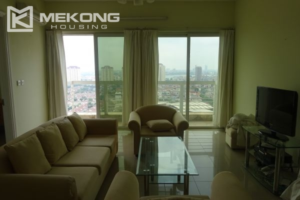 Bright apartment with 4 bedrooms on high floor in E4 tower Ciputra Hanoi 2