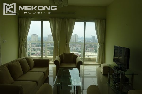 Bright apartment with 4 bedrooms on high floor in E4 tower Ciputra Hanoi 3