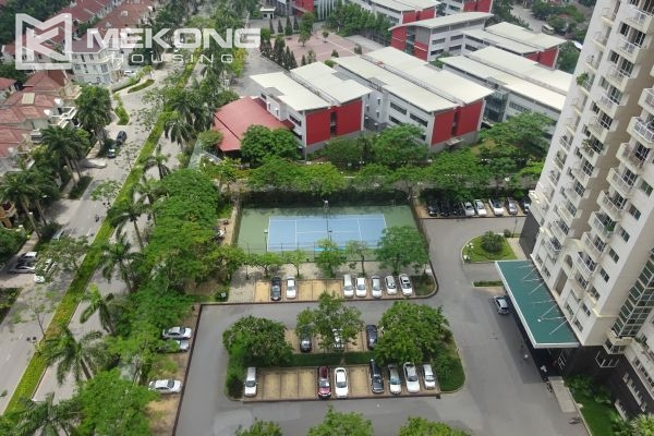 Bright apartment with 4 bedrooms on high floor in E4 tower Ciputra Hanoi 19