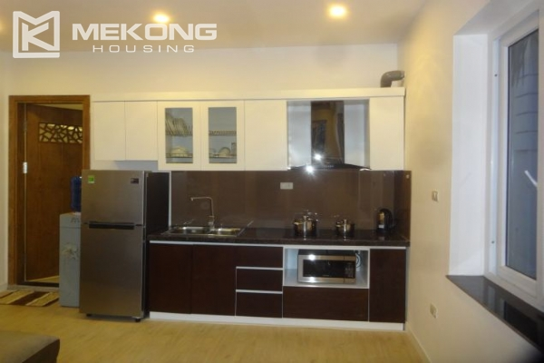 Bright serviced apartment with 1 bedroom for rent in To Ngoc Van street 3