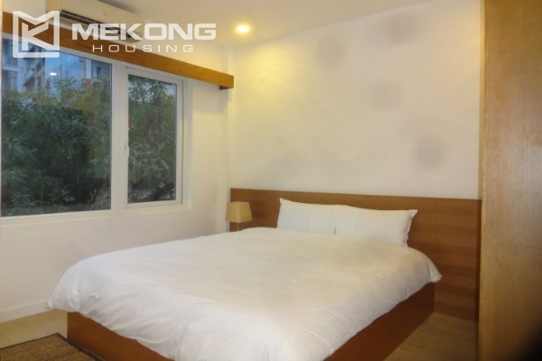 Bright serviced apartment with 1 bedroom for rent in To Ngoc Van street 5