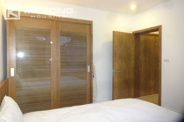 Bright serviced apartment with 1 bedroom for rent in To Ngoc Van street 6