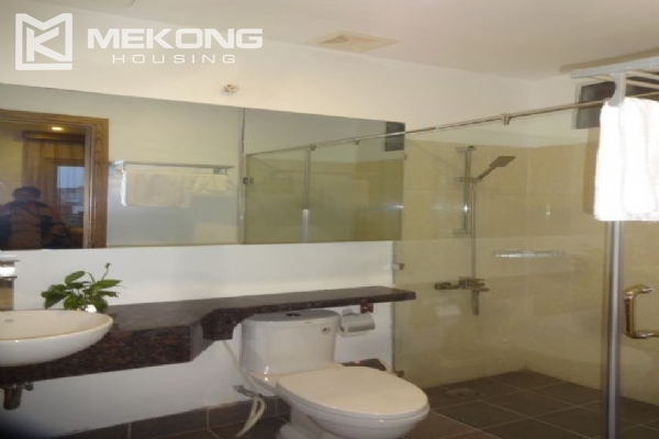 Bright serviced apartment with 1 bedroom for rent in To Ngoc Van street 7