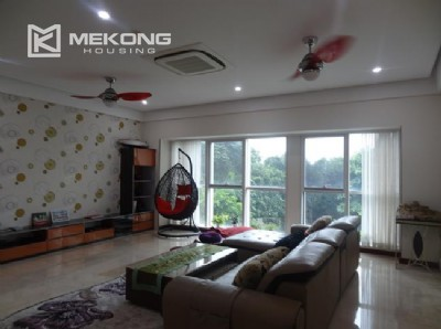 Charming 267 m2 apartment with 4 bedrooms for rent in L tower, Ciputra Hanoi