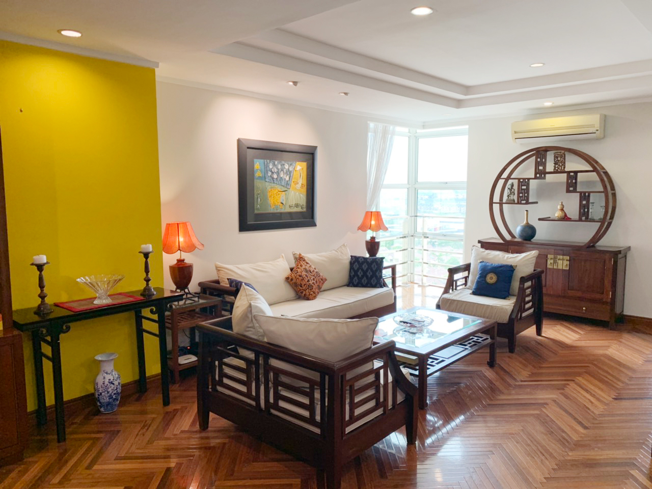 Charming 3 BR apartment with cozy design in G2 tower, Ciputra Hanoi 1