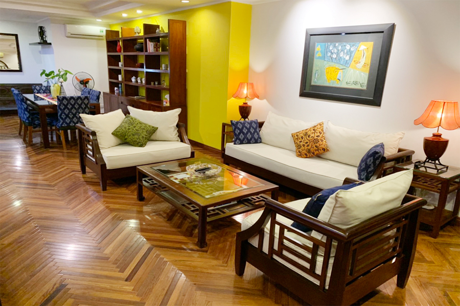Charming 3 BR apartment with cozy design in G2 tower, Ciputra Hanoi 2