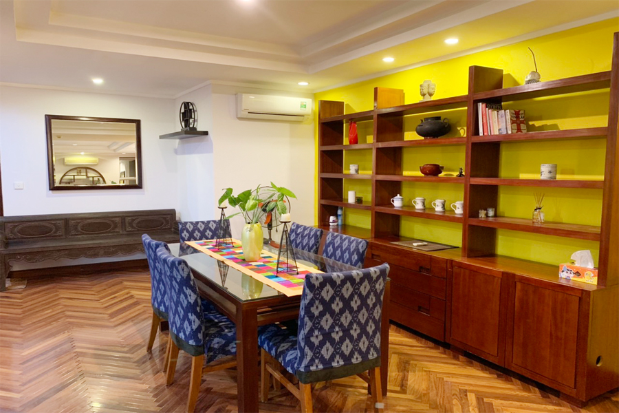 Charming 3 BR apartment with cozy design in G2 tower, Ciputra Hanoi 5