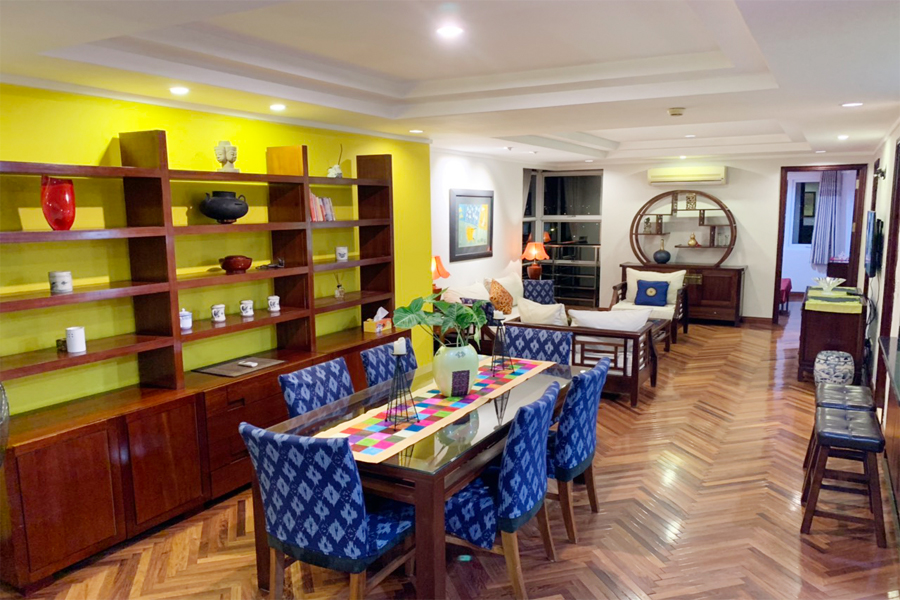 Charming 3 BR apartment with cozy design in G2 tower, Ciputra Hanoi 7