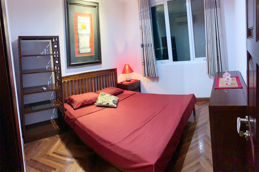 Charming 3 BR apartment with cozy design in G2 tower, Ciputra Hanoi 8