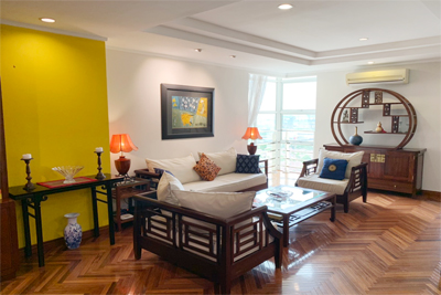Charming 3 BR apartment with cozy design in G2 tower, Ciputra Hanoi