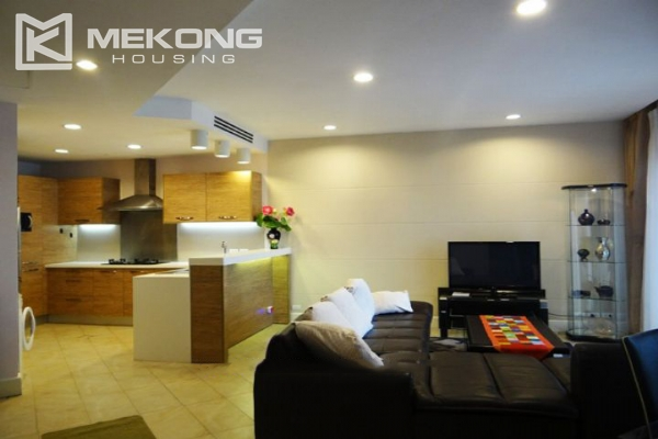 Charming apartment with 2 bedrooms and Westlake view for rent in Golden Westlake Hanoi 1