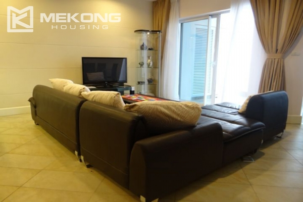 Charming apartment with 2 bedrooms and Westlake view for rent in Golden Westlake Hanoi 2
