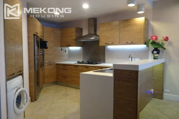 Charming apartment with 2 bedrooms and Westlake view for rent in Golden Westlake Hanoi 4