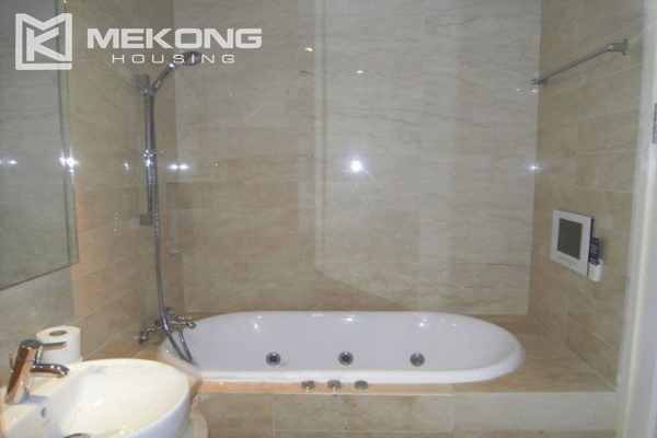 Charming apartment with 2 bedrooms and Westlake view for rent in Golden Westlake Hanoi 12