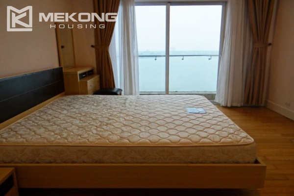 Charming apartment with 2 bedrooms and Westlake view for rent in Golden Westlake Hanoi 9