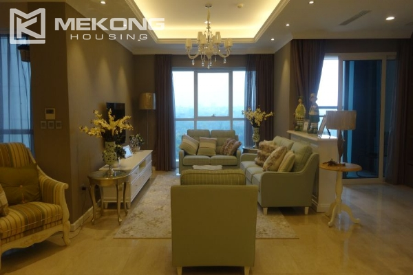 Charming apartment with 4 bedrooms and nice view in L tower, Ciputra Hanoi 2