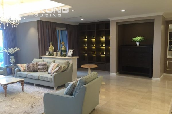 Charming apartment with 4 bedrooms and nice view in L tower, Ciputra Hanoi 4