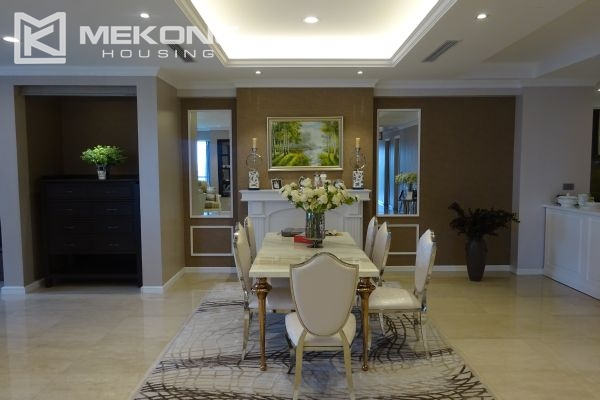 Charming apartment with 4 bedrooms and nice view in L tower, Ciputra Hanoi 7