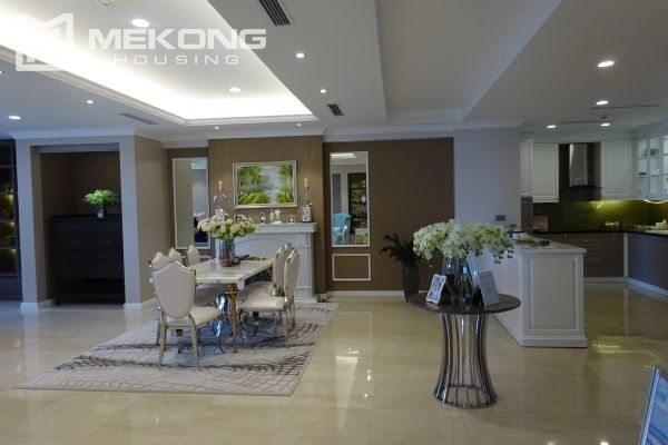 Charming apartment with 4 bedrooms and nice view in L tower, Ciputra Hanoi 9