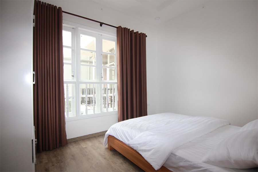 Charming serviced apartment with 1 bedroom for rent on To Ngoc Van street, Tay Ho district 6