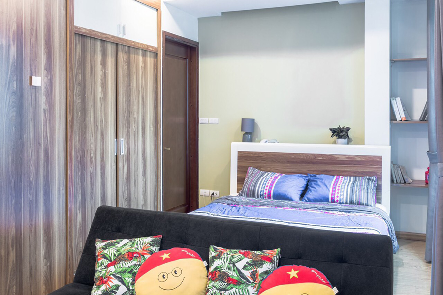 Charming Studiou apartment for rent alley 545 Xuan Dinh street, Tay Ho district 3