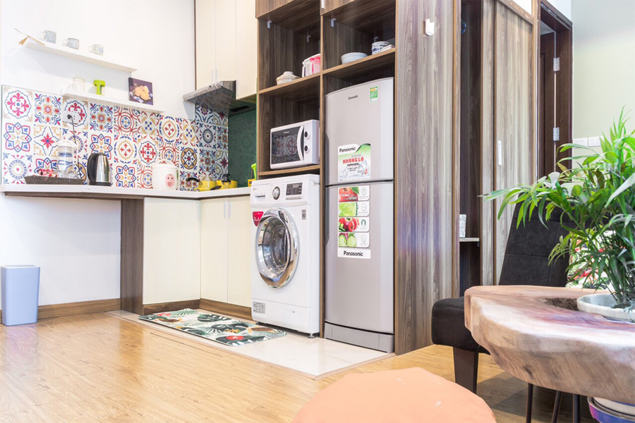 Charming Studiou apartment for rent alley 545 Xuan Dinh street, Tay Ho district 5