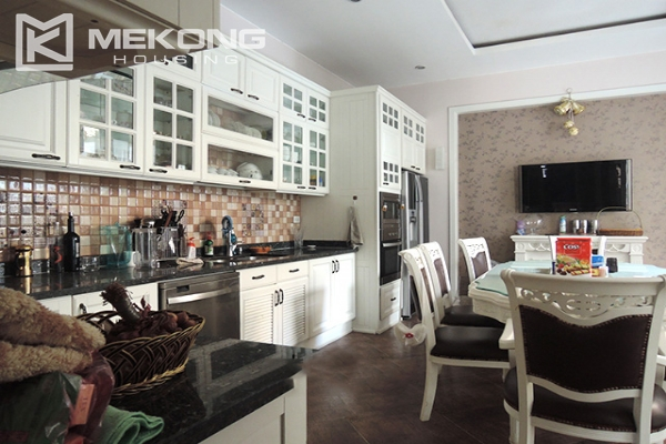 Charming villa with 5 bedrooms and modern furniture in T block, Ciputra Hanoi 7