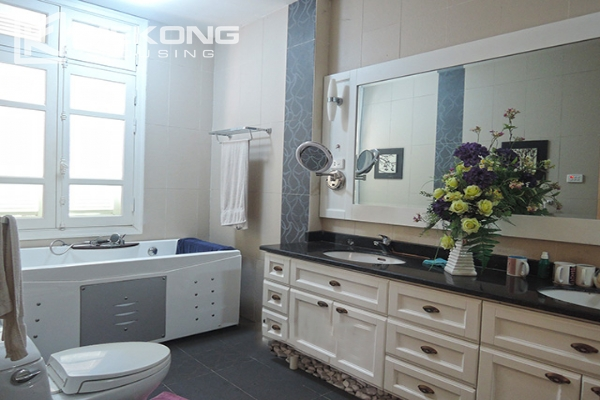 Charming villa with 5 bedrooms and modern furniture in T block, Ciputra Hanoi 10