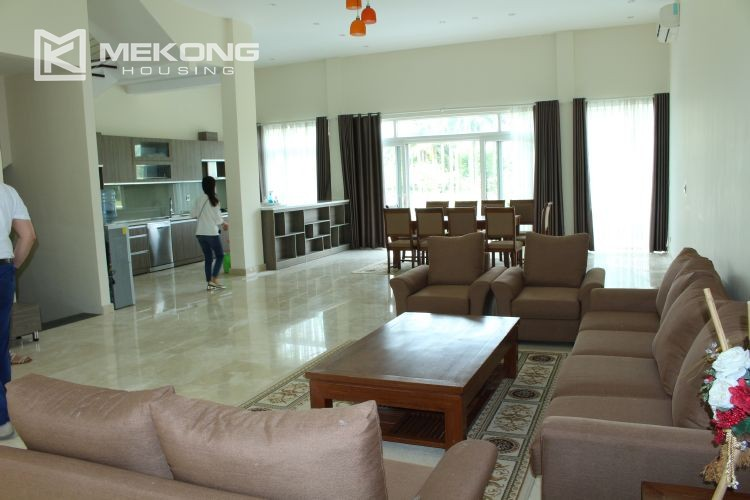 Charming villa with big garden and 5 bedroom in Q block, Ciputra Hanoi 1