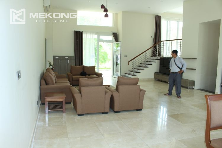 Charming villa with big garden and 5 bedroom in Q block, Ciputra Hanoi 3