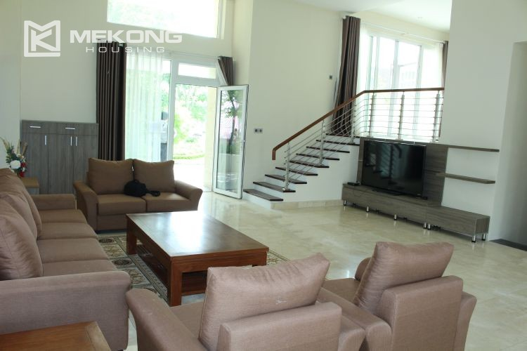 Charming villa with big garden and 5 bedroom in Q block, Ciputra Hanoi 9