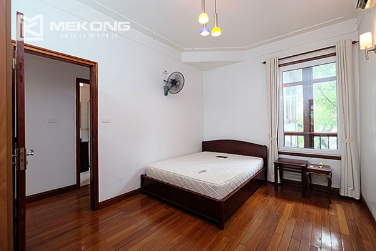 Charming villa with lake view and garden for rent in Tay Ho district 9