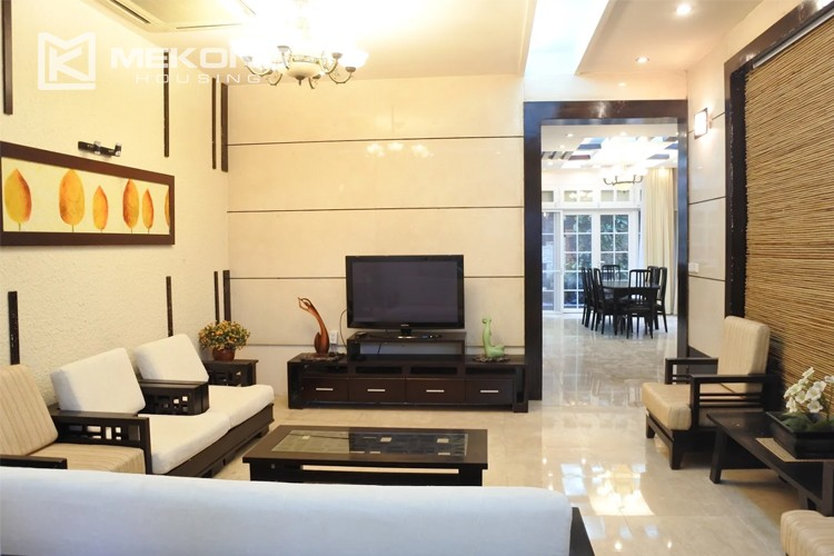 Charming villa with spacious living room and 5 bedrooms in T block, Ciputra Hanoi 1