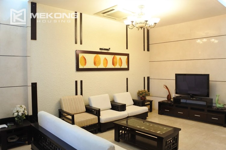 Charming villa with spacious living room and 5 bedrooms in T block, Ciputra Hanoi 2