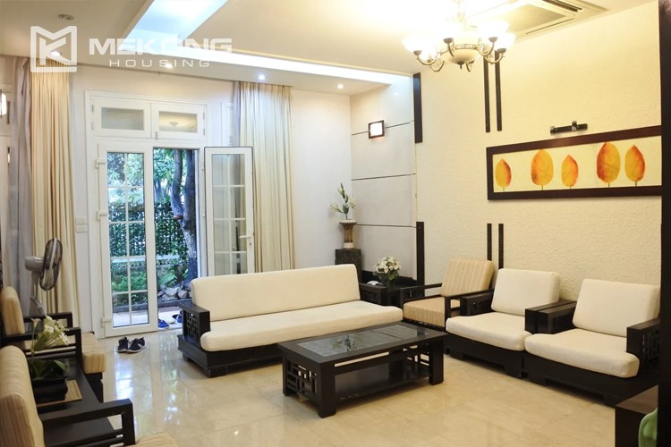 Charming villa with spacious living room and 5 bedrooms in T block, Ciputra Hanoi 3