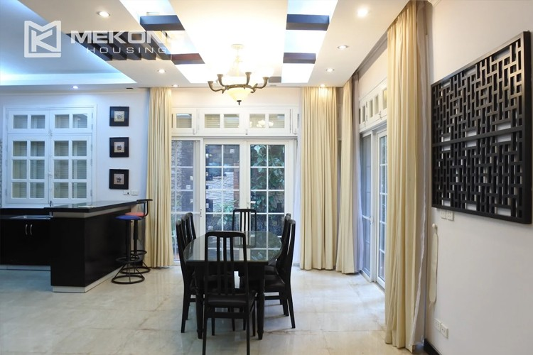 Charming villa with spacious living room and 5 bedrooms in T block, Ciputra Hanoi 5
