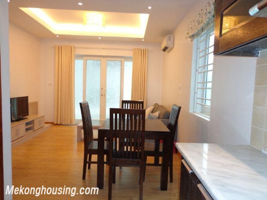 Cheap serviced apartment for rent in Lang Ha street, Dong Da district, Hanoi 7