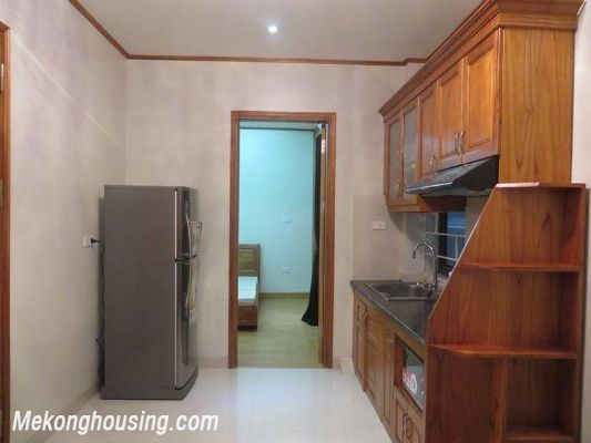 Cheap serviced apartment with 2 bedrooms for rent in Ngoc Khanh street, Ba Dinh, Hanoi 1