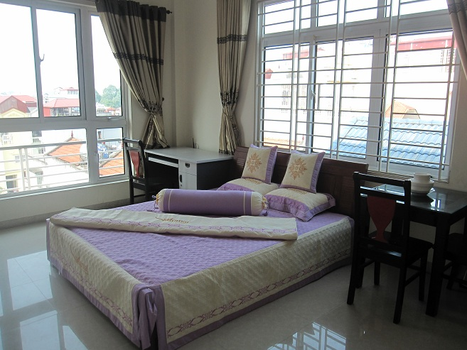 Cheap serviced apartment with one bedroom for rent in Lieu Giai street, Ba Dinh district, Hanoi