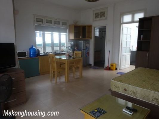 Cheap studio serviced apartment for rent in To Ngoc Van