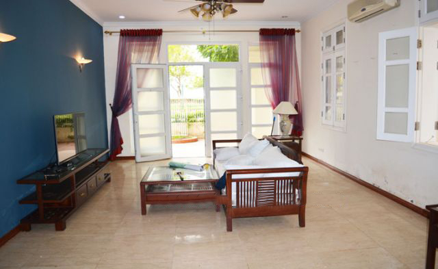 Ciputra  furnished villa for rent in T5 block with 5 bedroooms, full of natural light